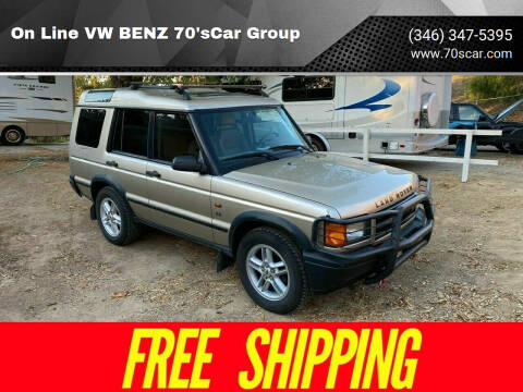 2001 Land Rover Discovery Series II for sale at On Line VW BENZ 70'sCar Group in Warehouse CA