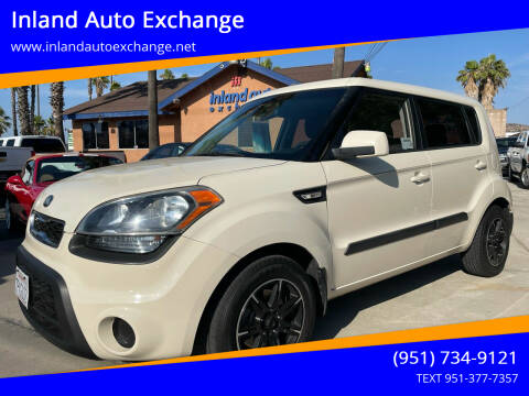2013 Kia Soul for sale at Inland Auto Exchange in Norco CA