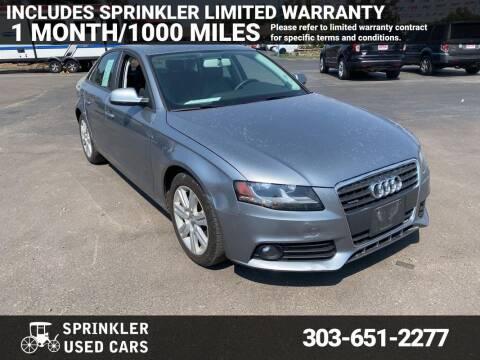 2011 Audi A4 for sale at Sprinkler Used Cars in Longmont CO