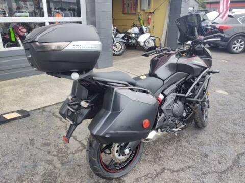 2018 Kawasaki Versys 650 for sale at Goodfella's  Motor Company in Tacoma WA