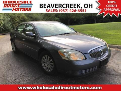 2008 Buick Lucerne for sale at WHOLESALE DIRECT MOTORS in Beavercreek OH