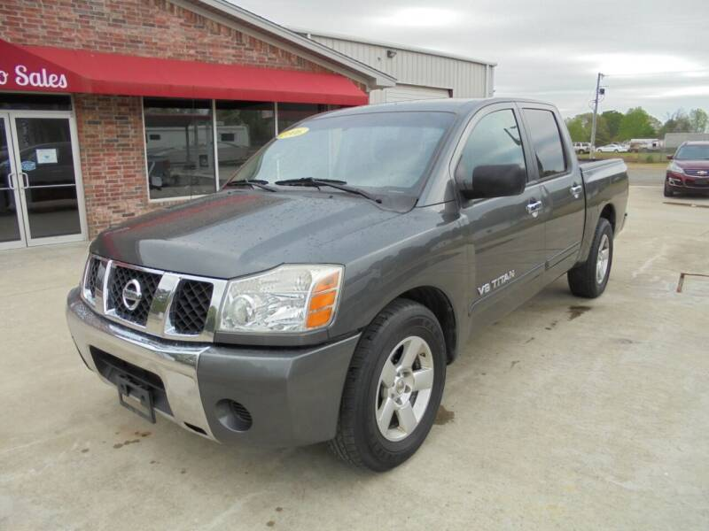 2006 Nissan Titan for sale at US PAWN AND LOAN in Austin AR