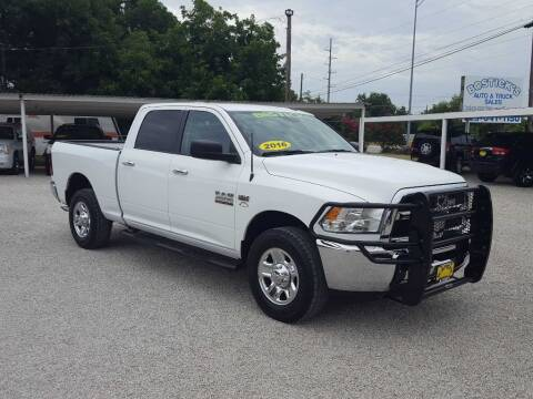 2016 RAM Ram Pickup 2500 for sale at Bostick's Auto & Truck Sales in Brownwood TX