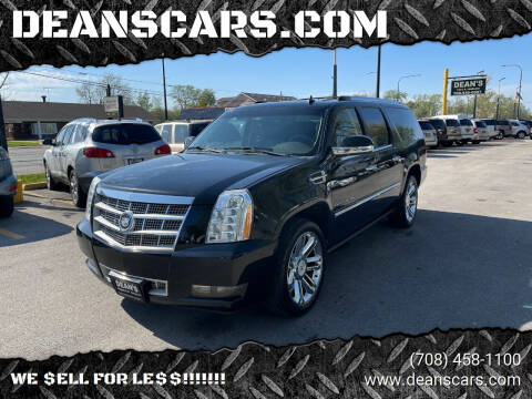 2011 Cadillac Escalade ESV for sale at DEANSCARS.COM in Bridgeview IL