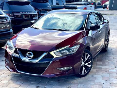 2016 Nissan Maxima for sale at Unique Motors of Tampa in Tampa FL