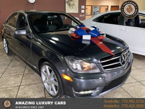 2014 Mercedes-Benz C-Class for sale at Amazing Luxury Cars in Snellville GA
