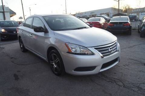 2014 Nissan Sentra for sale at Green Ride Inc in Nashville TN