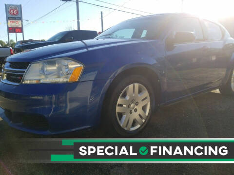 2013 Dodge Avenger for sale at Shelton & Son Auto Sales L.L.C in Dover AR