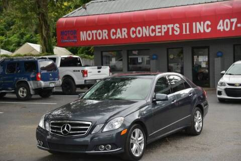 2011 Mercedes-Benz E-Class for sale at Motor Car Concepts II - Apopka Location in Apopka FL