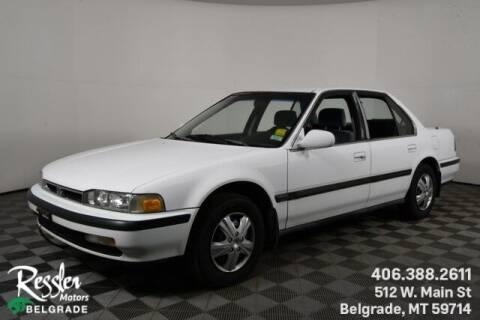 1991 Honda Accord for sale at Danhof Motors in Manhattan MT