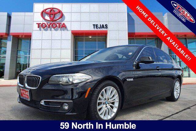 2016 BMW 5 Series for sale at TEJAS TOYOTA in Humble TX