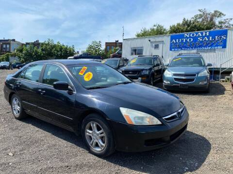 2006 Honda Accord for sale at Noah Auto Sales in Philadelphia PA