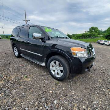 2011 Nissan Armada for sale at ALL WHEELS DRIVEN in Wellsboro PA