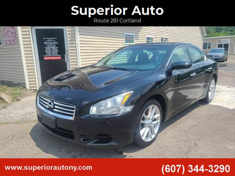2014 Nissan Maxima for sale at Superior Auto in Cortland NY