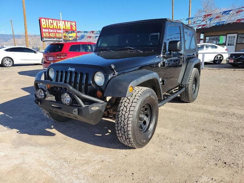 2007 Jeep Wrangler for sale at Bickham Used Cars in Alamogordo NM