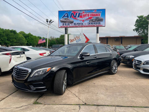 2015 Mercedes-Benz S-Class for sale at ANF AUTO FINANCE in Houston TX