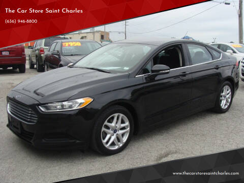 2015 Ford Fusion for sale at The Car Store Saint Charles in Saint Charles MO