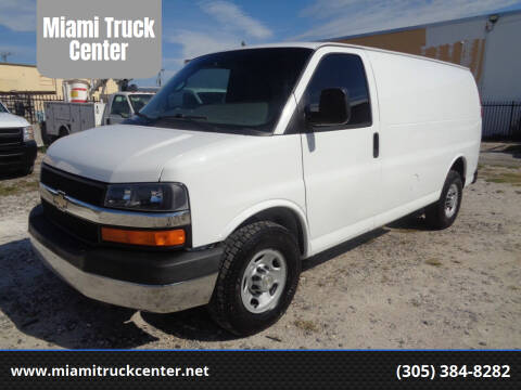 2012 Chevrolet Express Cargo for sale at Miami Truck Center in Hialeah FL