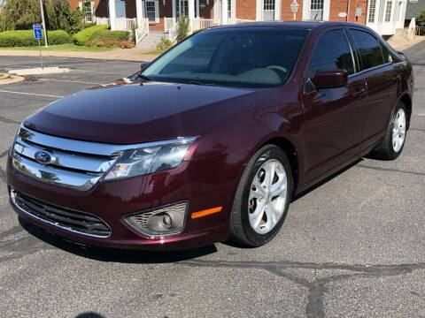 2012 Ford Fusion for sale at DRIVE N BUY AUTO SALES in Ogden UT