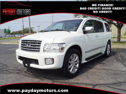 2010 Infiniti QX56 for sale at Payday Motors in Wichita And Topeka KS
