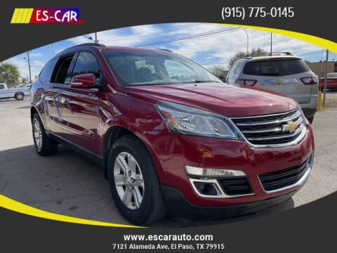 2014 Chevrolet Traverse for sale at Escar Auto in El Paso TX