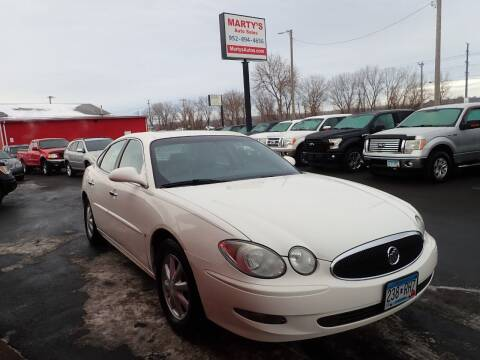 2006 Buick LaCrosse for sale at Marty's Auto Sales in Savage MN