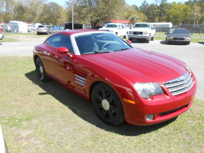2004 Chrysler Crossfire for sale at Jeff's Auto Wholesale in Summerville SC
