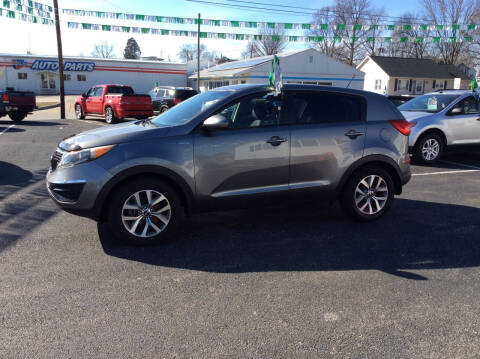 2015 Kia Sportage for sale at BISHOP MOTORS inc. in Mount Carmel IL