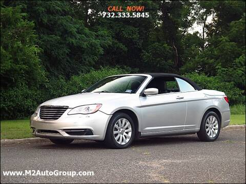 2012 Chrysler 200 Convertible for sale at M2 Auto Group Llc. EAST BRUNSWICK in East Brunswick NJ