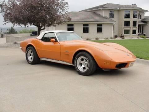 1973 Chevrolet Corvette for sale at Frieling Auto Sales in Manhattan KS