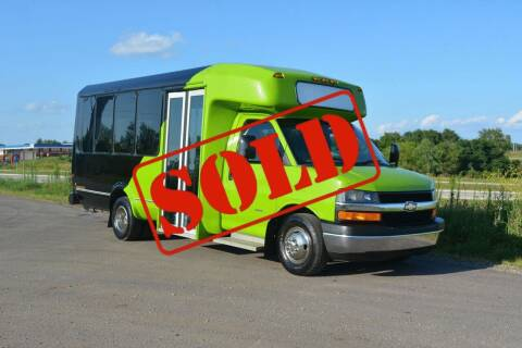 2014 Chevrolet Express Cargo for sale at Signature Truck Center - Shuttle Buses in Crystal Lake IL