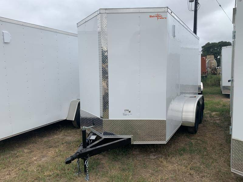 2022 Salvation Trailers 6X12 6X12 RAMP DOOR CARGO TAND for sale at The Trailer Lot in Hallettsville TX