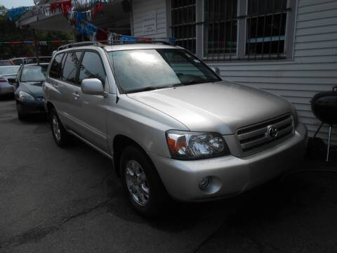 2006 Toyota Highlander for sale at N H AUTO WHOLESALERS in Roslindale MA