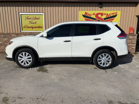 2016 Nissan Rogue for sale at BIG 'S' AUTO & TRACTOR SALES in Blanchard OK