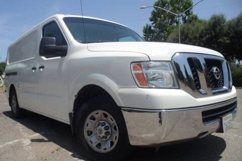 2013 Nissan NV Cargo for sale at CAR PLUS in Modesto CA