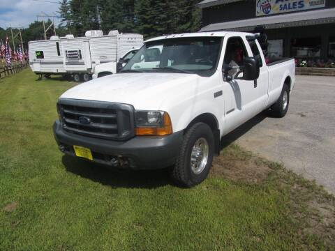 2000 Ford F-250 Super Duty for sale at Jons Route 114 Auto Sales in New Boston NH