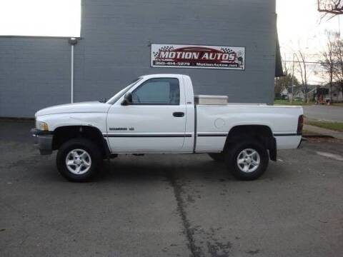 1997 Dodge Ram Pickup 1500 for sale at Motion Autos in Longview WA