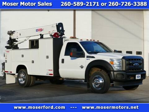 2016 Ford F-550 Super Duty for sale at Moser Motors Of Portland in Portland IN