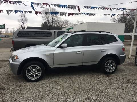 2006 BMW X3 for sale at Antique Motors in Plymouth IN
