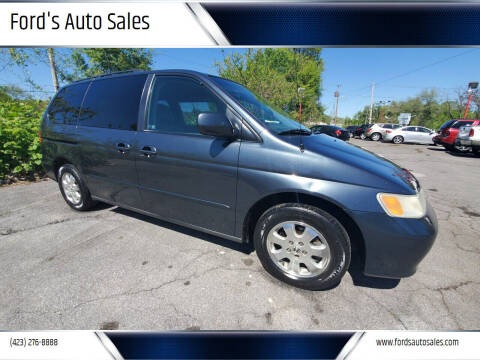 2003 Honda Odyssey for sale at Ford's Auto Sales in Kingsport TN