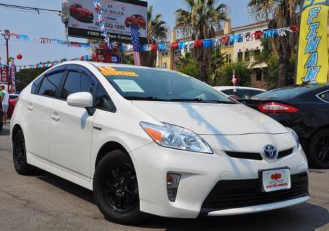 2015 Toyota Prius for sale at AMC Auto Sales, Inc in San Jose CA