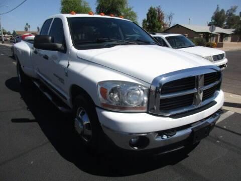 2006 Dodge Ram Pickup 3500 for sale at DORAMO AUTO RESALE in Glendale AZ