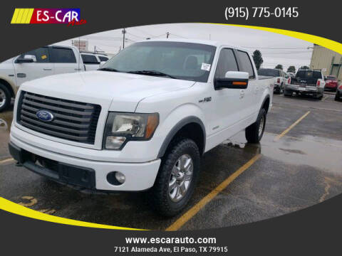 2011 Ford F-150 for sale at Escar Auto in El Paso TX
