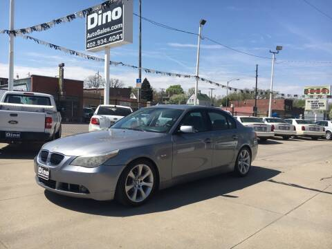 2007 BMW 5 Series for sale at Dino Auto Sales in Omaha NE