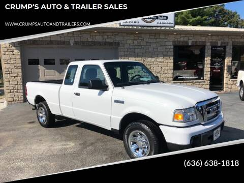 2011 Ford Ranger for sale at CRUMP'S AUTO & TRAILER SALES in Crystal City MO