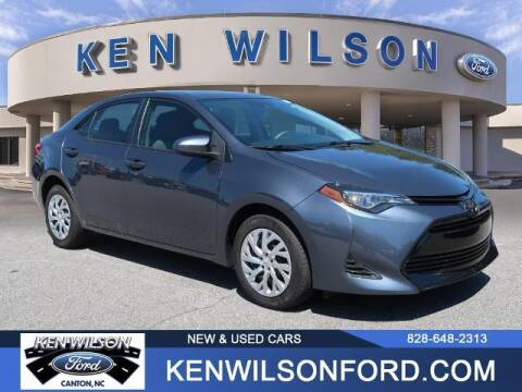 2019 Toyota Corolla for sale at Ken Wilson Ford in Canton NC
