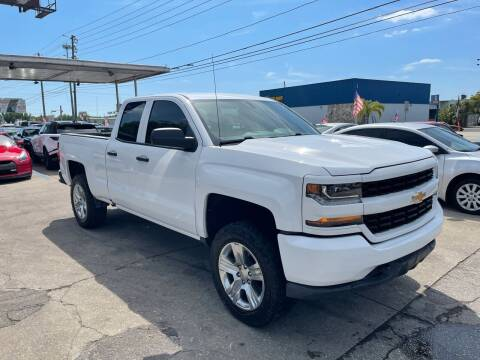 2017 Chevrolet Silverado 1500 for sale at P J Auto Trading Inc in Orlando FL