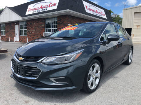 2017 Chevrolet Cruze for sale at tazewellauto.com in Tazewell TN