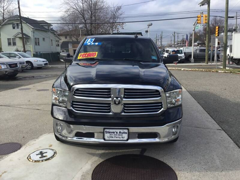 2015 RAM Ram Pickup 1500 for sale at Steves Auto Sales in Little Ferry NJ