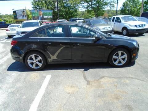 2014 Chevrolet Cruze for sale at Gemini Auto Sales in Providence RI